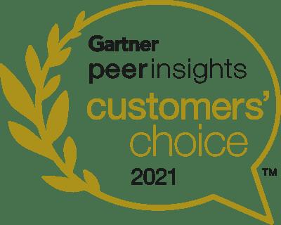 Gartner Peer Insights Customers' Choice 2021
